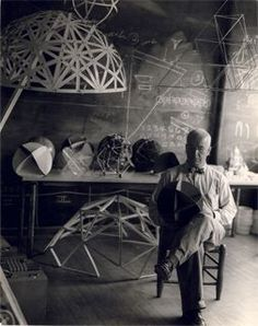 """Everyone is born a genius, but the process of living de-geniuses them.""                       R. Buckminster Fuller"