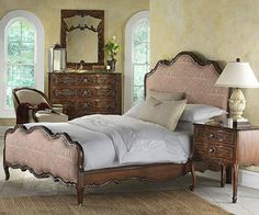 Highland House Furniture: HH11-125-LV - Marigny Upholstered Queen Bed