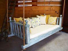 Swing Beds - Rustic Garden 2