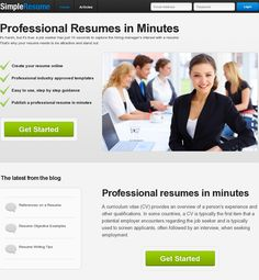 Resume In Just Minutes