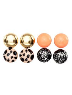 Everyone has different taste in jewelry, but with a four-pack, you can't go wrong.4-pack Earrings, $3.99, HM.com Courtesy Image -Cosmopolitan.com