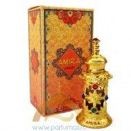 Esenta de parfum Amira 12ml Parfum feminin oriental floral, plin de senzualitate, cu note florale delicate si tonuri calde de mosc.