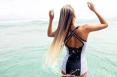 Alana Blanchard super cute one piece bathers swim suit - surf fashion!