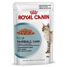 48 x 85g Pouch Royal Canin Wet Hairball in Gravy Cat Food with Gravy by Maltby's UK ** Learn more by visiting the image link. #TrainCat