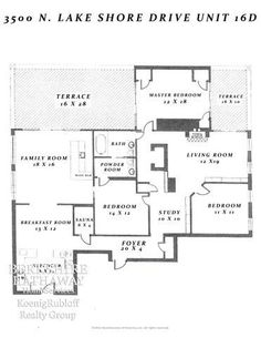 Lakes and chicago on pinterest for 1400 n lake shore drive floor plans