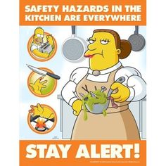 Workplace safety safety posters and emergency for 5 kitchen safety hazards