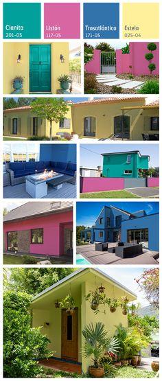 100 Ideas De Exteriores Fachadas Pinturas De Casas Colores De Fachadas
