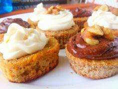 Cupcake #sinazucar sin harina de trigo! Simplente deliciosos  <3 postres saludables!