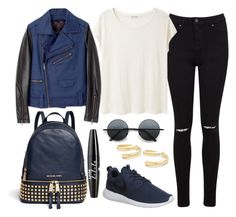 """""""Untitled#1329"""" by mihai-theodora ❤ liked on Polyvore featuring Opening Ceremony, Miss Selfridge, Acne Studios, Michael Kors, NYX, NIKE, Retrò and Elizabeth and James"""