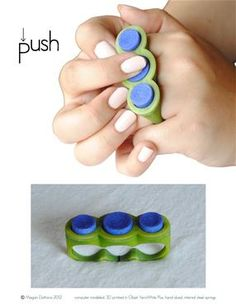Fidget Rings - what a great ADHD aid!