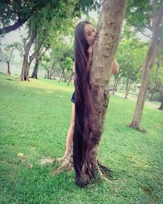 VK is the largest European social network with more than 100 million active users. Really Long Hair, Super Long Hair, Beautiful Long Hair, Simply Beautiful, Beautiful Women, Long Hairstyles, Braided Hairstyles, Worlds Longest Hair, Hair Job