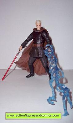 star wars action figures COUNT DOOKU DARTH TYRANUS geonosian escape 2003 complete attack of the clones saga aotc