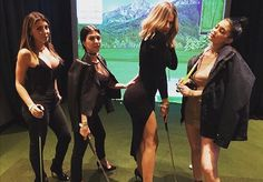 The Kardashian-Jenners aren't above a little good old-fashioned fun.