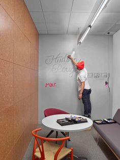 Inside Hudson Rouges Inspiring, New York City Ad Agency  #office: office space, office design, office interiors