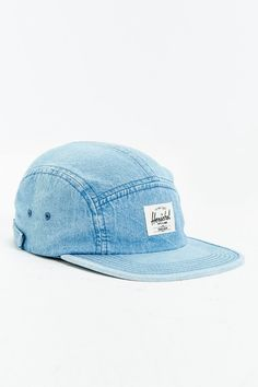 956b61143d86b Herschel Supply Co. Glendale Faded Denim 5-Panel Baseball Hat