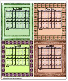 Calendrier planning agenda