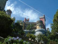 Palacio de la Pena en Sintra.