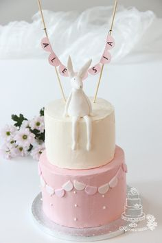 Bunny cake Pupukakku nimiäisiin