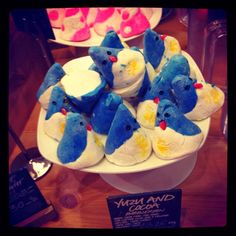 The most adorable bath bombs I've ever seen from LUSH!!