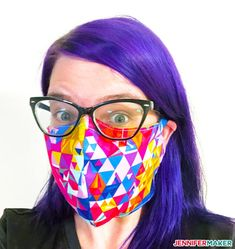Learn how to use our free face mask patterns and make your own masks with the help of a Cricut Explore or Cricut Maker … or just cut these by hand! Calling all sewists! My brother-in-law Chad… Easy Face Masks, Diy Face Mask, Mascarilla Diy, Mask Template, Fabric Markers, Making Faces, Pocket Pattern, Maker, Couture