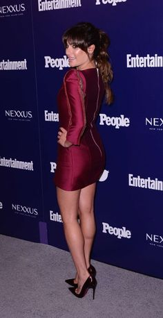 Lea Michele – Entertainment Weekly And PEOPLE Celebrate The New York Upfronts in NY