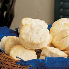 Quick Biscuits Recipe  2 c self rising flour 1 c heavy whipping cream 450 bake 8-10 mins If you don't have self-rising flour, add 1 tablespoon baking powder and 1 teaspoon salt to 2 cups all-purpose flour.