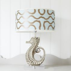 Sea Horse Lamp - View All Lighting - Lighting Coastal Living, Coastal Decor, Horse Lamp, Door Rugs, Animal Magic, Mirror With Lights, Living Room Inspiration, Lamp Bases, Decoration