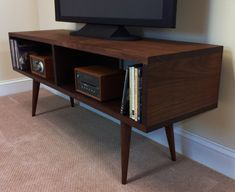 QUICK SHIP-Mid century modern TV by scottcassin on Etsy