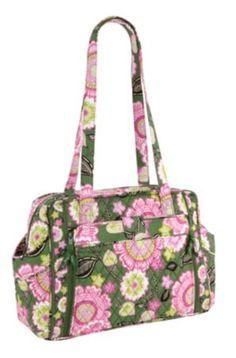 Make a Change Baby Bag in Olivia Pink, $118.00 | Vera Bradley