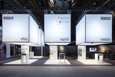 Regiolux & lichtwerk at light+building 2018 by kluge retail.brand.architecture, Frankfurt am Main – Germany » Retail Design Blog
