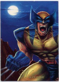Wolverine-Pepsi Cards   Logan, el más misterioso de los Hombres-X, fue encontrado en los bosques y le fue dado un esqueleto de Adamantium por el Doctor Cornelius. Este con su poder mutante de curar cualquier herida instantáneamente, hizo de Wolverine uno de los mas temidos y salvajes luchadores de la tierra. Magneto, el Mutante diabólico, despojo a Logan del Adamantium que había en su esqueleto, dejándolo así con los puros huesos, pero aun así es peligroso.