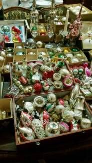 Christbaumkugeln Antik.Alt Antik Weihnachtsbaumschmuck Christbaumkugeln Baumkugeln Vogel