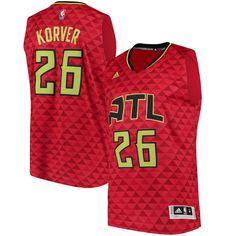 2948ec2f68c Kyle Korver Atlanta Hawks adidas Alternate Swingman climacool Jersey - Red  - 65.99 ...