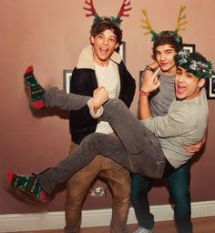 "vibrantnostalgia: "" One Direction Christmas [3/?] x """