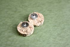 How To: Make Wine Cork Earrings - Crafting a Green World