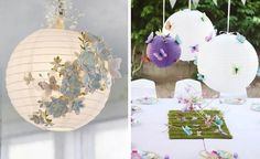 8 Papierlaternen Schmetterling hochzeitsdekoration ideen Neuanfang! Schmetterlinge Hochzeit Idee