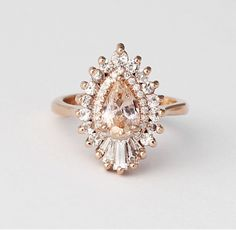 the unique rings that stand out this engagement season via - Bohemian Wedding Rings