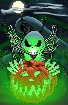Jack Nightmare Before Christmas, Nightmare Before Christmas Wallpaper, Fete Halloween, Disney Halloween, Happy Halloween, Halloween Halloween, Tim Burton Kunst, Tim Burton Art, Jack Y Sally