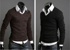 Fashion-Slim-Casual-Mens-Sweaters-Mens-Cashmere-Sweater-Mens-Wool-Sweaters-MS154.jpg (500×355)