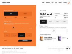 Hey! I'd like to share with you something I was working on recently. It's simple calories calculator web app for supplements store. What makes it different is product suggestions feature. It gives ...