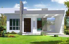 Plano de casa moderna de dos dormitorios en un piso #casasminimalistasrusticas #casasminimalistasdeunpiso