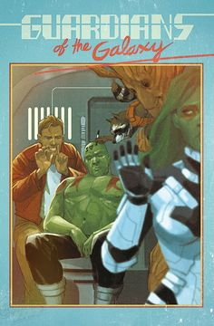 These Phil Noto Marvel Covers Look Like Beautiful Retro Snapshots. Guardians of the Galaxy.