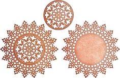 Cheery Lynn Royal Scandinavian Doily Circle Die. Cheery Lynn Designs die. This is a three die set. One cuts out an individual circle while the larger tow create