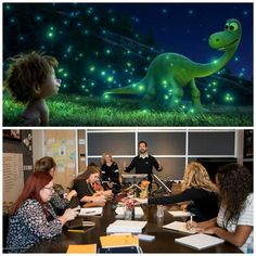The Good Dinosaur storytelling process