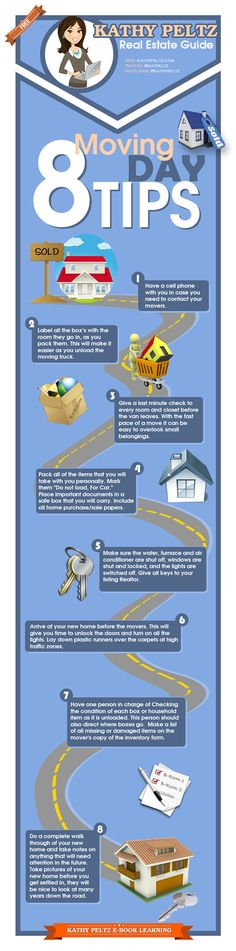 8 Moving Day Tips To Save You Time And Money! When you buy a home you eventually have to move, right?  Tips to help make your move smooth. #vlgcommunities #columbusoh #homebuying101