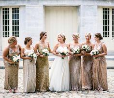 Gold and blush Philadelphia wedding. WeLaughWeLove photography
