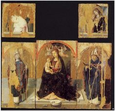 Polyptych with St. Gregory, 1473			Antonello da Messina
