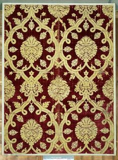 Furnishing fabric      Place of origin:      Bursa (city), Turkey (probably, made)     Turkey (made)     Date:      late 16th centur...