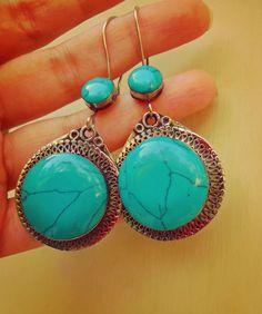 Bohemian Earrings Tribal Jewelry Gypsy Earrings by GypsyCult, $34.99 #UK #Rome #London