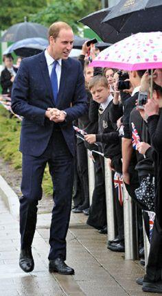 Prince William, Duke of Cambridge visits Yorkshire on 04.06.2014